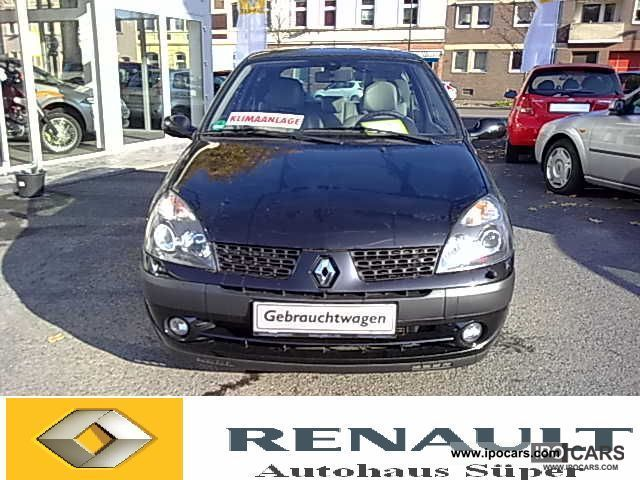 2003 Renault  Clio 1.6 16V Initial + leather / heated seats! Small Car Used vehicle photo