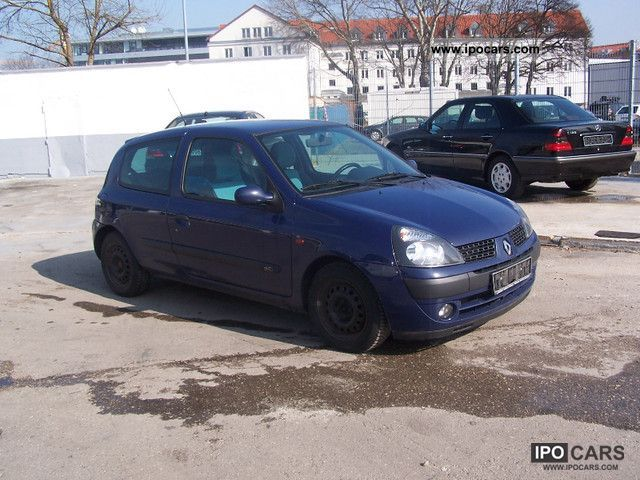 2002 renault clio 1 5 dci blue sensation car photo and specs. Black Bedroom Furniture Sets. Home Design Ideas