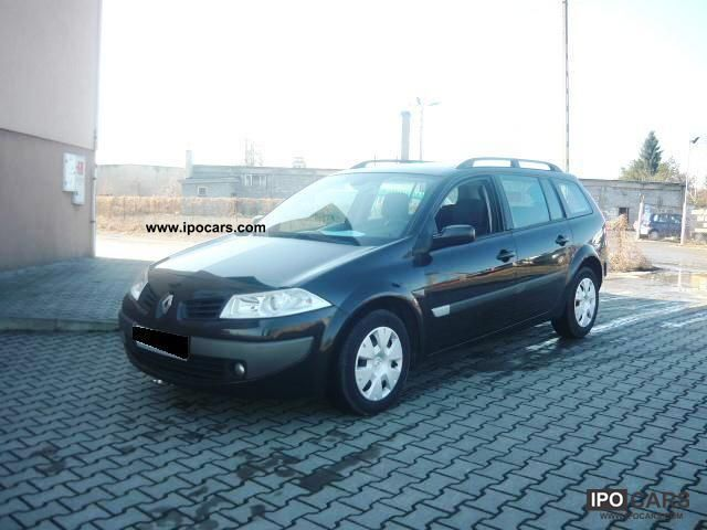 2006 renault megane 1 9 dci 110 hp stan bdb car photo and specs. Black Bedroom Furniture Sets. Home Design Ideas