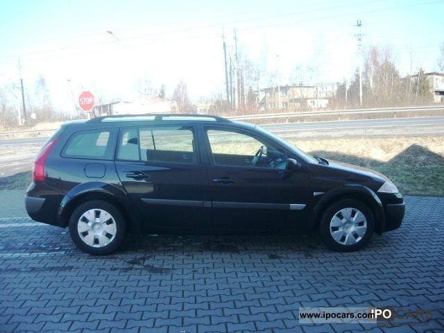 2006 renault megane 1 9 dci 110 hp stan bdb car photo. Black Bedroom Furniture Sets. Home Design Ideas