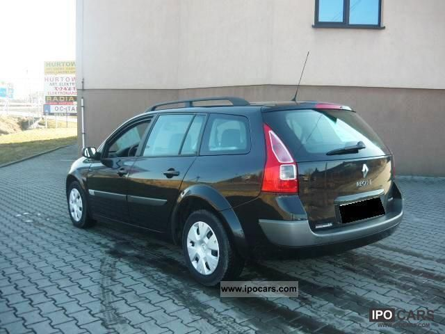 2006 renault megane 1 9 dci 110 hp stan bdb car photo. Black Bedroom Furniture Sets. Home Design Ideas