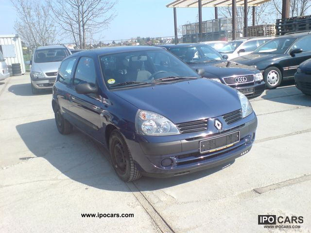 2004 renault clio authentique 1 5 dci confort car photo and specs. Black Bedroom Furniture Sets. Home Design Ideas