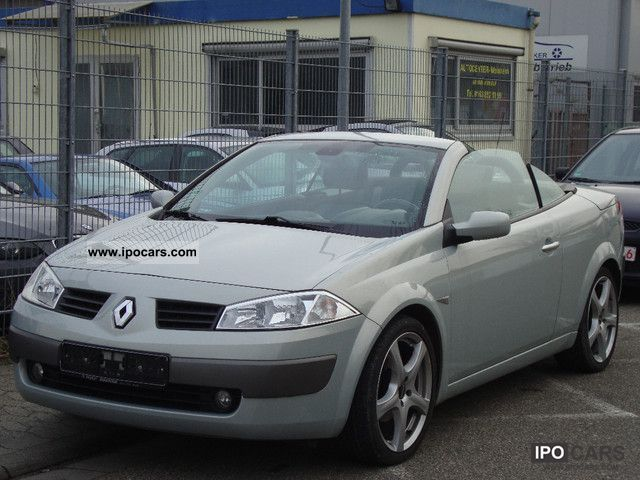 2003 Renault  2.0Coupe Megane Cabriolet Panoramic Luxe Privilege Cabrio / roadster Used vehicle photo