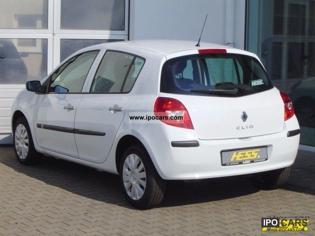 2008 renault clio extreme 1 2 16v 75 confort 4 door car photo and specs. Black Bedroom Furniture Sets. Home Design Ideas