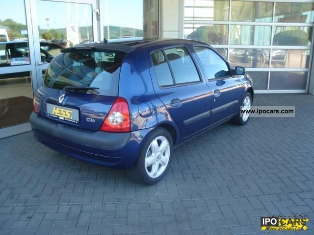 2002 renault clio 1 4 16v dynamique car photo and specs. Black Bedroom Furniture Sets. Home Design Ideas