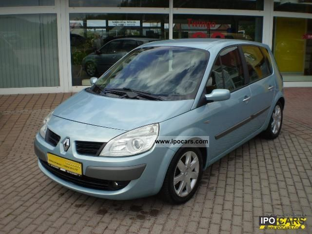 2007 renault scenic 1 9 dci fap exception car photo and specs. Black Bedroom Furniture Sets. Home Design Ideas