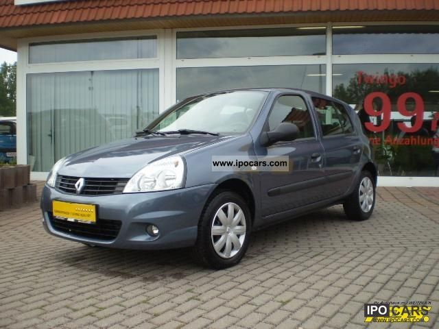 2009 renault clio authentique 1 2 16v campus car photo and specs. Black Bedroom Furniture Sets. Home Design Ideas