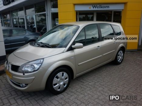 2008 renault grand scenic dci 110 pk 5p tech line car photo and specs. Black Bedroom Furniture Sets. Home Design Ideas