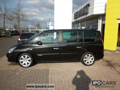 2008 renault grand espace 2 0 dci 175 pk dynamique car photo and specs. Black Bedroom Furniture Sets. Home Design Ideas