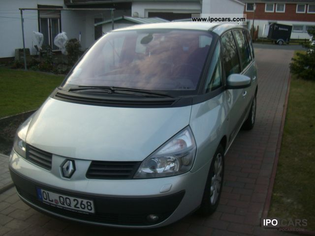 Renault  Espace 2.0 Initial 2003 Liquefied Petroleum Gas Cars (LPG, GPL, propane) photo