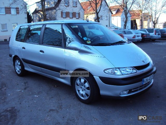 2001 renault grand espace 2 2 dci car photo and specs. Black Bedroom Furniture Sets. Home Design Ideas