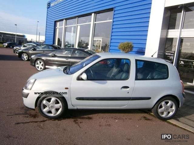 2002 renault 1 6 16v dynamique clio ii phase2 3p car photo and specs. Black Bedroom Furniture Sets. Home Design Ideas