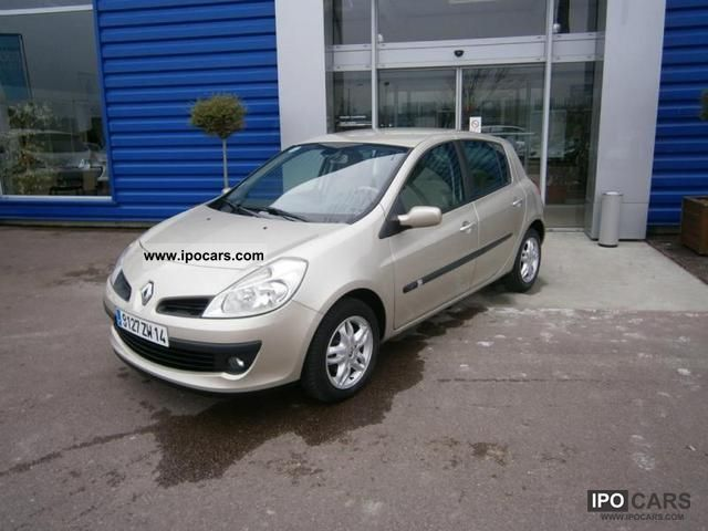 2005 renault clio iii 1 5 dci105 luxe privilege 5p car photo and specs. Black Bedroom Furniture Sets. Home Design Ideas