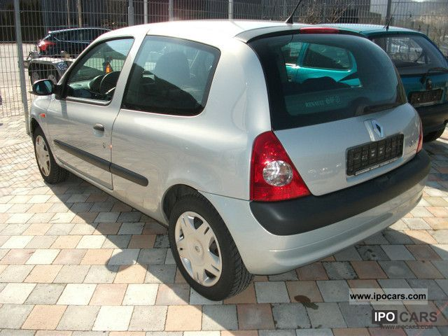 2002 renault clio 1 2 16v car photo and specs. Black Bedroom Furniture Sets. Home Design Ideas