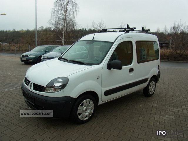 2007 Renault  Kangoo 1.5 dCi Kaleido climate, € 4, 5 seats Van / Minibus Used vehicle photo