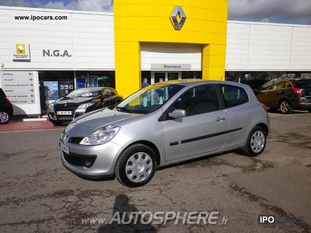 2007 renault clio iii 1 6 16v dynamique ba 3p car photo and specs. Black Bedroom Furniture Sets. Home Design Ideas