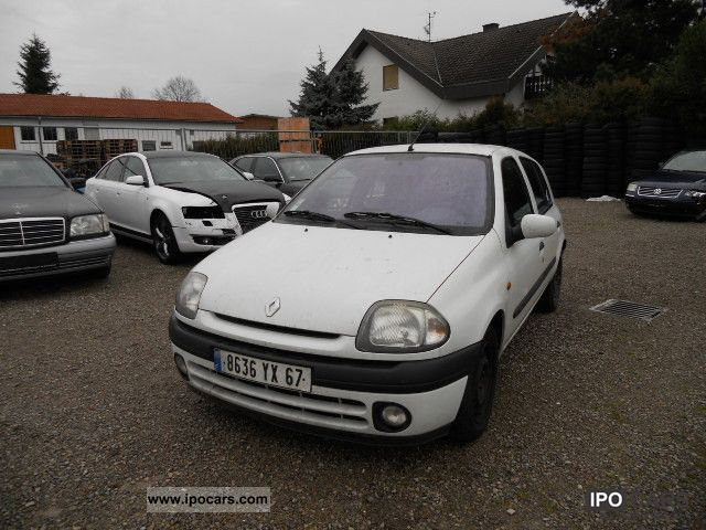 1999 renault clio 1 9 d air car photo and specs. Black Bedroom Furniture Sets. Home Design Ideas