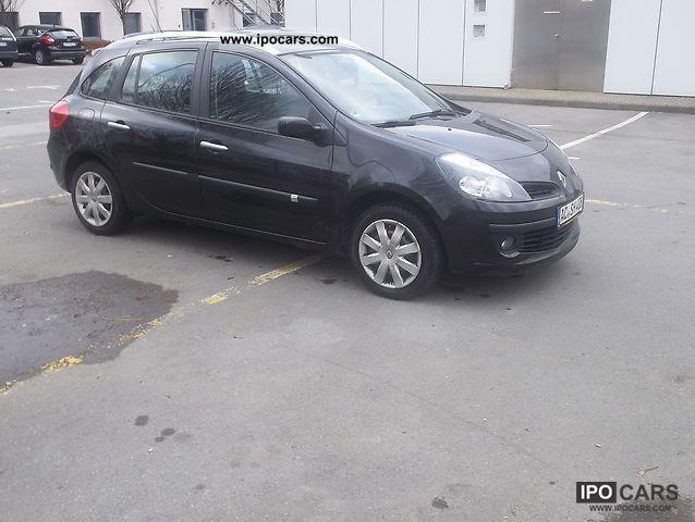 2008 Renault Clio 12 16v Tce Dynamique Grand Tour Edition Car