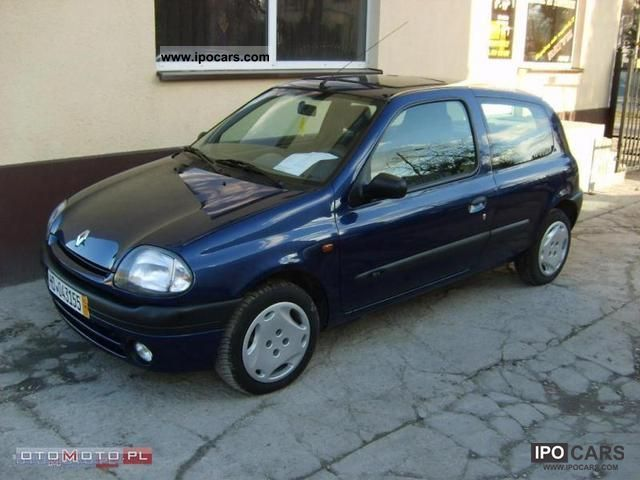 2000 renault clio 1 9 d car photo and specs. Black Bedroom Furniture Sets. Home Design Ideas