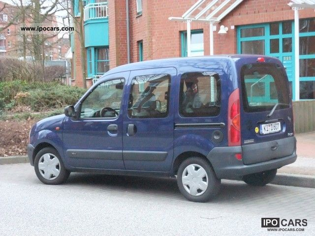 2002 renault kangoo 1 6 16v expression car photo and specs. Black Bedroom Furniture Sets. Home Design Ideas