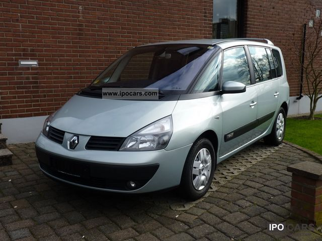 2004 renault espace 1 9 dci authentique car photo and specs. Black Bedroom Furniture Sets. Home Design Ideas
