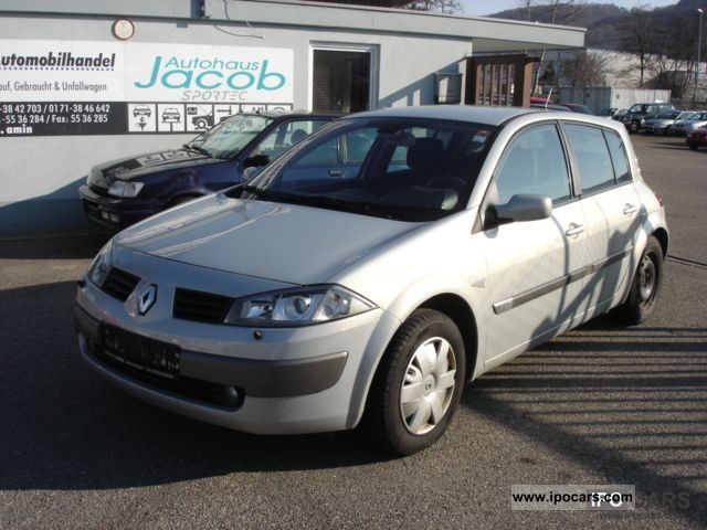 2003 renault megane 1 9 dci car photo and specs. Black Bedroom Furniture Sets. Home Design Ideas