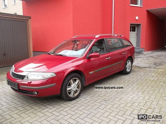 2002 Renault  2.2 dCi 1hand leather interior climate Estate Car Used vehicle photo