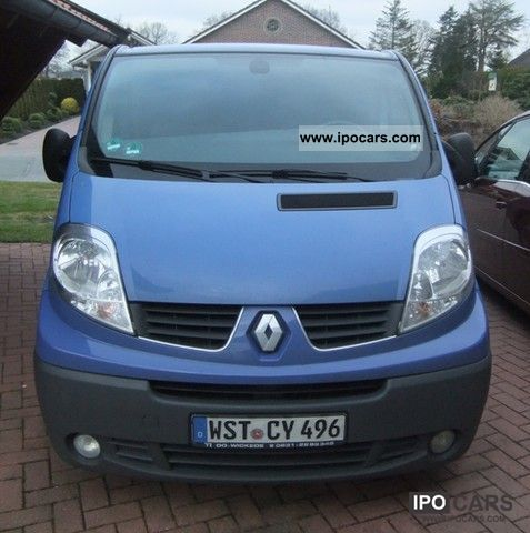 2007 renault trafic 2 0 dci 115 l1h1 car photo and specs. Black Bedroom Furniture Sets. Home Design Ideas