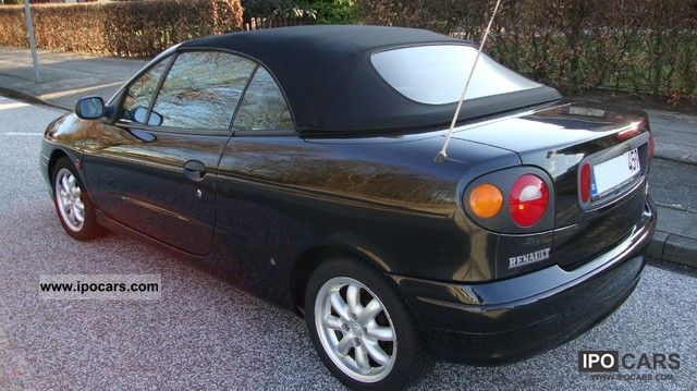 1999 renault megane cabriolet 1 6 car photo and specs. Black Bedroom Furniture Sets. Home Design Ideas