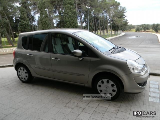 2008 renault grand modus 1 5 dci 86cv dynamique car photo and specs. Black Bedroom Furniture Sets. Home Design Ideas