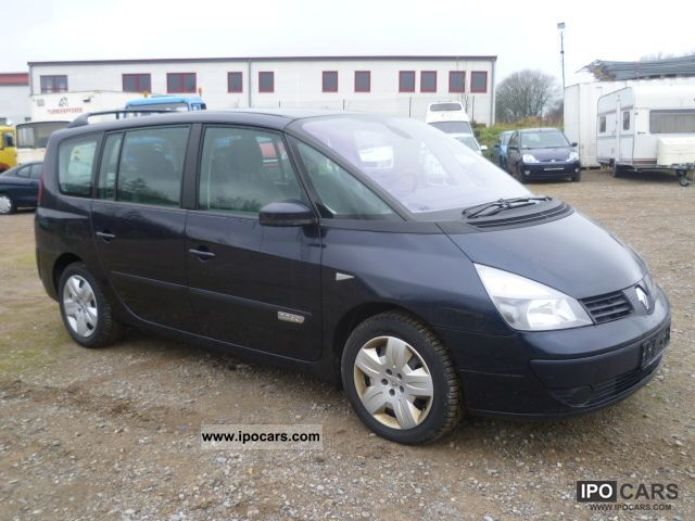 2007 renault grand espace 2 2 dci dynamique car photo and specs. Black Bedroom Furniture Sets. Home Design Ideas