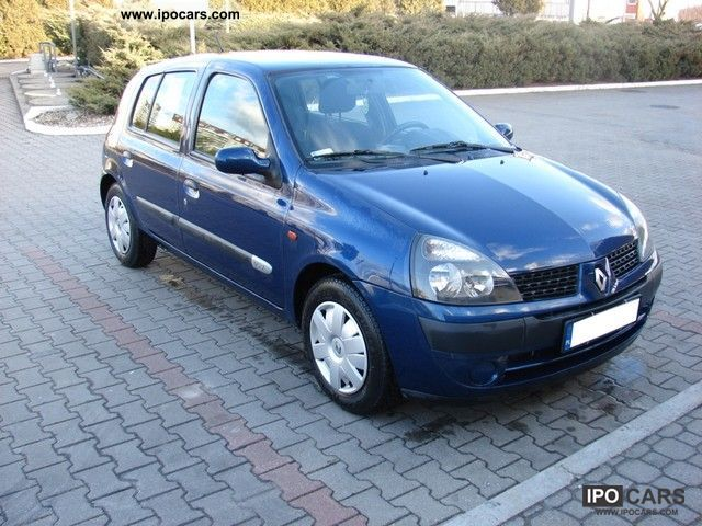 2001 renault clio ii 12 16v po lifcie krajowy benz small car used pictures. Black Bedroom Furniture Sets. Home Design Ideas