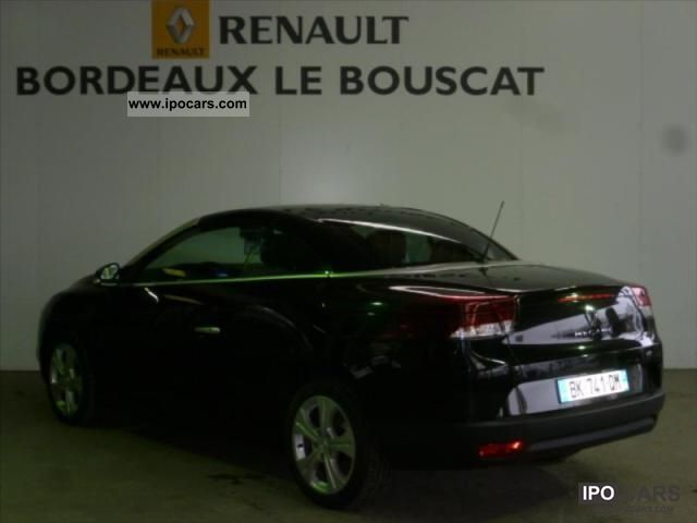 2011 renault iii megane cc dynamique dci 130 fap euro 5 car photo and specs. Black Bedroom Furniture Sets. Home Design Ideas