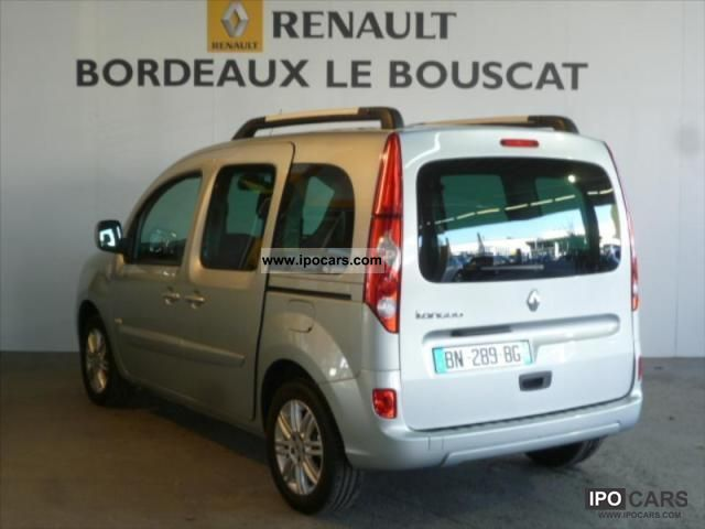 2011 renault kangoo 1 5 dci 90 eco2 sl tomtom edition 5 car photo and specs. Black Bedroom Furniture Sets. Home Design Ideas