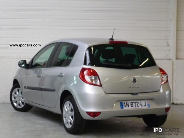 2010 renault clio iii dynamique dci 85 eco2 car photo