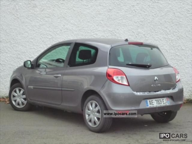 2009 renault clio iii dynamique dci 85 eco2 car photo and specs. Black Bedroom Furniture Sets. Home Design Ideas