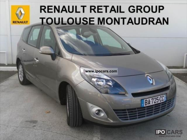 2010 renault grand scenic dci 130 privilege iii 7 pl car. Black Bedroom Furniture Sets. Home Design Ideas