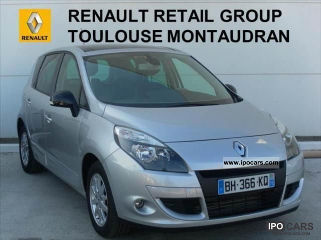 2011 renault scenic dci 130 fap iii exception 5 2011 car photo and specs. Black Bedroom Furniture Sets. Home Design Ideas