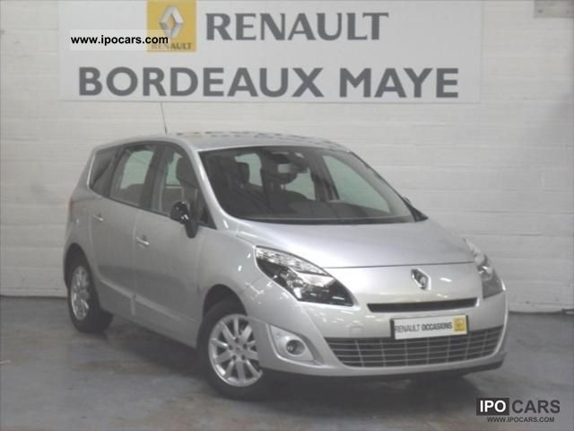2011 renault grand scenic dci 130 fap iii exception 5 7 car photo and specs. Black Bedroom Furniture Sets. Home Design Ideas