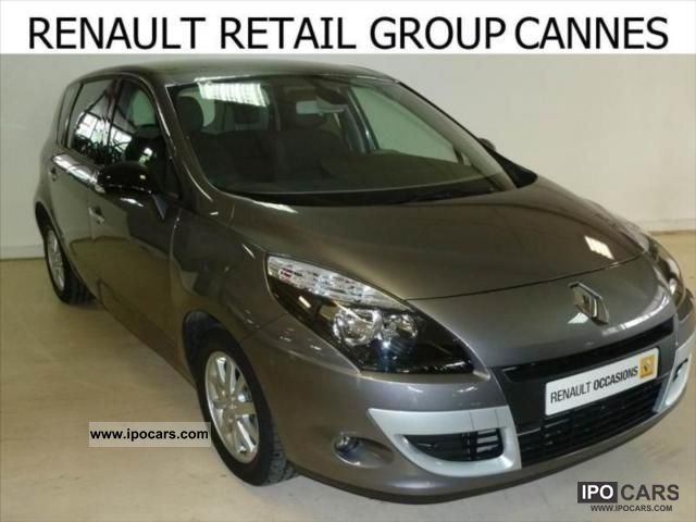 2011 renault scenic dci 130 fap iii eco2 energy exception car photo and specs. Black Bedroom Furniture Sets. Home Design Ideas