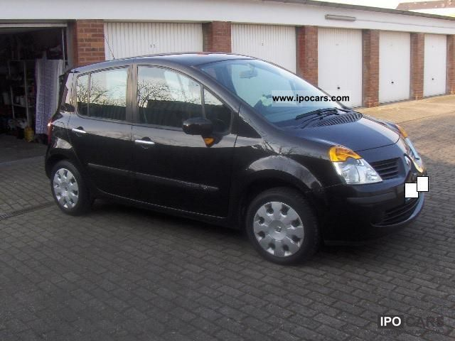 2005 renault modus 1 2 dynamique 16v car photo and specs. Black Bedroom Furniture Sets. Home Design Ideas