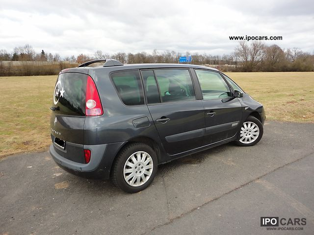 2004 renault espace 2 2 dci car photo and specs. Black Bedroom Furniture Sets. Home Design Ideas