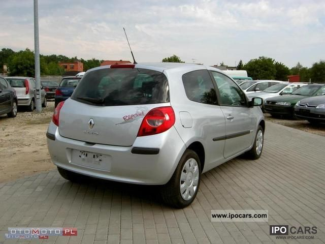 2007 renault clio 1 5 dci air car photo and specs. Black Bedroom Furniture Sets. Home Design Ideas