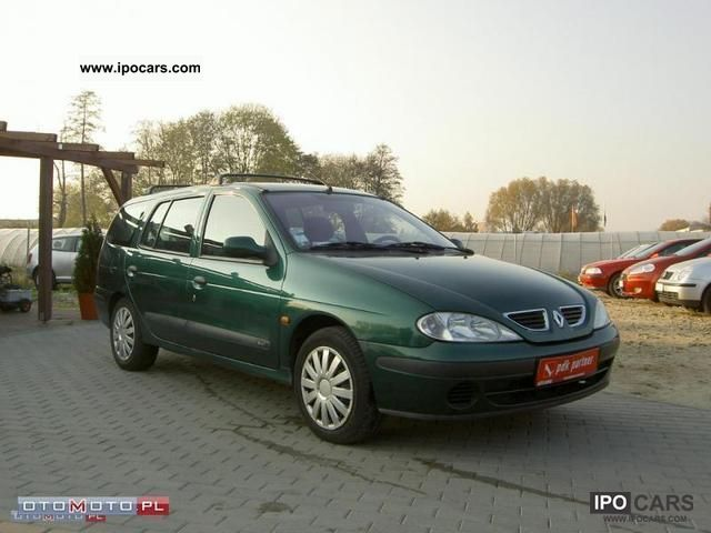 2000 renault megane 1 9 dti air zarejestrowany car photo and specs. Black Bedroom Furniture Sets. Home Design Ideas