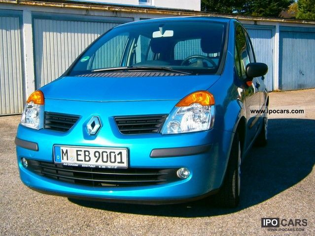 2005 renault modus 1 2 16v cite car photo and specs. Black Bedroom Furniture Sets. Home Design Ideas