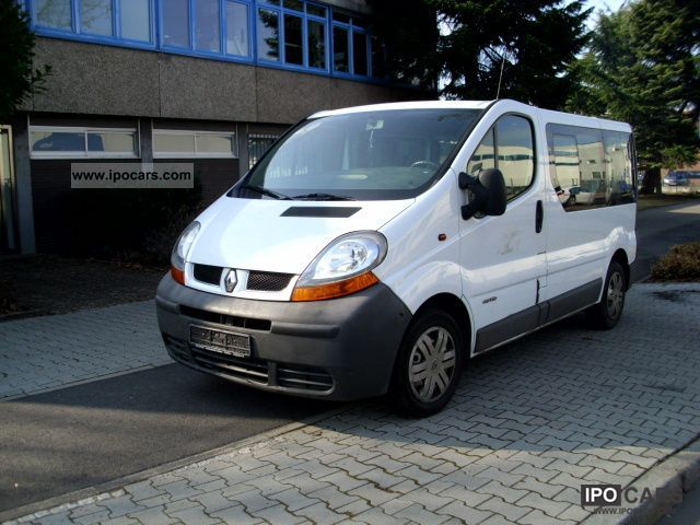 2003 Renault  Trafic 2.5 dCi siteze L1H1 9 Estate Car Used vehicle photo
