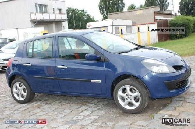 2007 Renault  Clio 1.2 5 Drzwi Elektryka BDB Small Car Used vehicle photo