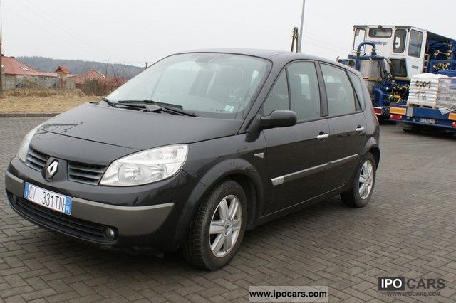 2006 renault scenic 200 bezwypadek gwarancja jak nowy car photo and specs. Black Bedroom Furniture Sets. Home Design Ideas