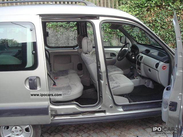 2004 Renault Kangoo 4x4 1 9 Dci Privilege Car Photo And