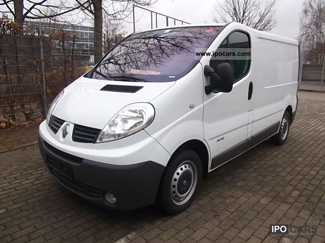 2008 renault trafic 2 0 dci 115 l1h1 comfort first hand. Black Bedroom Furniture Sets. Home Design Ideas